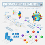 Infographic design elements Stock Photo