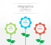 Infographic design elements for your business data with 3 options. Infographic design elements for your business data with 3 options, parts, steps, timelines or Royalty Free Stock Image