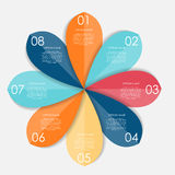 Infographic Design Elements for Your Business. Vector Illustration Royalty Free Stock Photo