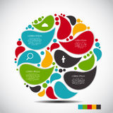 Infographic Design Elements for Your Business Royalty Free Stock Photo