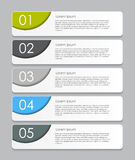 Infographic Design Elements for Your Business Vector Illustration. EPS10 Stock Image