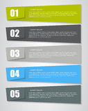 Infographic Design Elements for Your Business Vector Illustration. EPS10 Royalty Free Stock Photography