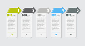 Infographic Design Elements for Your Business Vector Illustration. EPS10 royalty free illustration
