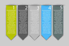 Infographic Design Elements for Your Business Vector Illustration Royalty Free Stock Photo