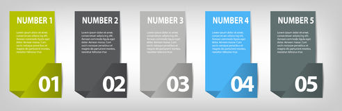 Infographic Design Elements for Your Business Vector Illustration. EPS10 Stock Photography