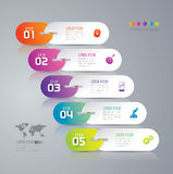 Infographic design and marketing icons. Stock Photo