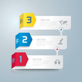 Infographic design and marketing icons. Stock Photography