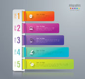 Infographic design and marketing icons. Abstract 3D digital illustration Infographic. Vector illustration can be used for workflow layout, diagram, number royalty free illustration