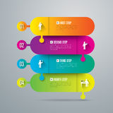 Infographic design and marketing icons. Stock Image