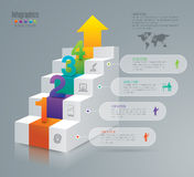 Infographic design and marketing icons. Royalty Free Stock Images