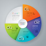 Infographic design and marketing icons. Abstract 3D digital illustration Infographic. Vector illustration can be used for workflow layout, diagram, number Stock Images