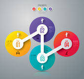 Infographic design and marketing icons. Stock Images