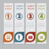 Infographic. Design number banners template graphic or website layout Stock Photos