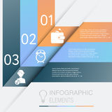 Infographic. Design number banners template graphic or website layout Stock Photo