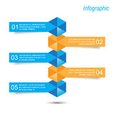 Infographic design for product ranking Stock Photography