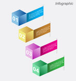 Infographic design for product ranking Royalty Free Stock Image