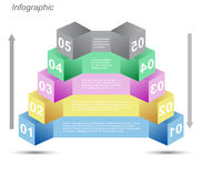 Infographic design for product ranking Stock Image