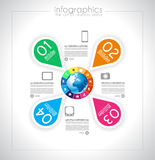 Infographic design for product ranking Royalty Free Stock Images