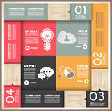 Infographic design for product ranking Stock Photo