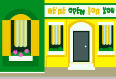 Infographic design of store house. Eps 10 vector file. Infographic design of store house. Eps 10 vector file Stock Photos