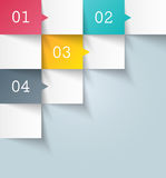 Infographic design template. This is file of EPS10 format Stock Photos