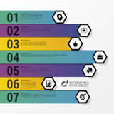 Infographic design template. Business concept for diagram. Vector illustration Stock Photography
