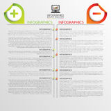 Infographic design template. Business concept. Timeline. Vector illustration Royalty Free Stock Photo