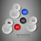Infographic Design Template Stock Photo