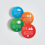 Infographic design template with elements and. Icons. Vector illustration Vector Illustration