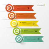 Infographic design template with icons. Banner. Vector Stock Photo