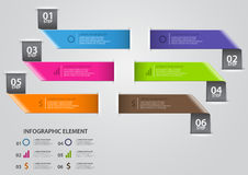 Infographic design template Stock Photos