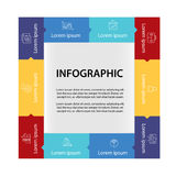Infographic design template. Infographics  design template. Background Stock Photography