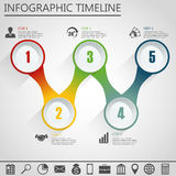 Infographic design template and marketing icon. Stock Images