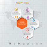Infographic design  and template marketing icons and  Busi Stock Images