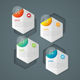 Infographic design template and marketing icons, Business concep. T with 4 options.illustration Stock Illustration