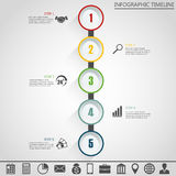 Infographic design template and marketing icons.. Stock Photo