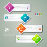 Infographic design template and marketing icons Stock Photo