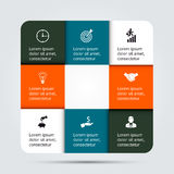 Infographic design template and marketing icons, Stock Photo