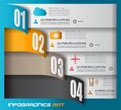 Infographic design template - Data Display stock illustration