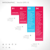 Infographic design template Royalty Free Stock Photos