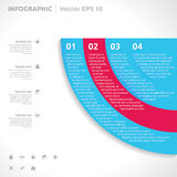Infographic design template Stock Image