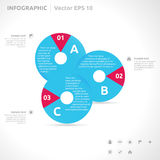 Infographic design template Royalty Free Stock Photography