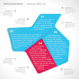 Infographic design template Stock Photography