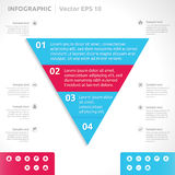 Infographic design template Stock Images
