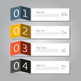 Infographic design template with place for your data. Vector illustration. Royalty Free Stock Photos