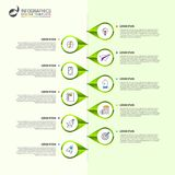 Infographic design template. Timeline concept with 10 steps. Can be used for workflow layout, diagram, banner, webdesign. Vector illustration vector illustration