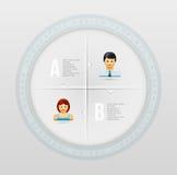 Infographic design template Stock Photos