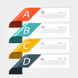 Infographic design template. Vector illustration. Royalty Free Stock Photography