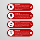 Infographic design template. Vector illustration. Stock Photos