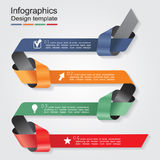 Infographic design template. Vector illustration. Eps 8 Stock Images